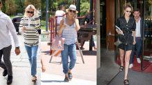 Kendall Jenner wears £60 Birkenstocks during Fashion Week