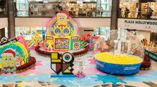 海綿寶寶 x GRAFFLEX『超想像』聖誕遊樂場 破格打造全新造型慶動畫20周年