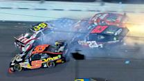 Pastrana and others collected in wreck