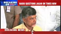 TDP Chief questions Jagan's bail?
