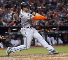 Giancarlo Stanton hits 57th homer, sets Marlins RBI record