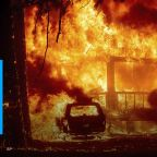 Fire engulfs California town, businesses turn to ashes