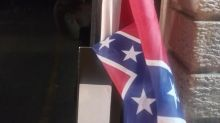 Activist feels 'unsafe' after Confederate flag, note are left for him at community center