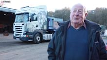 Great-grandad, 83, crowned oldest HGV driver