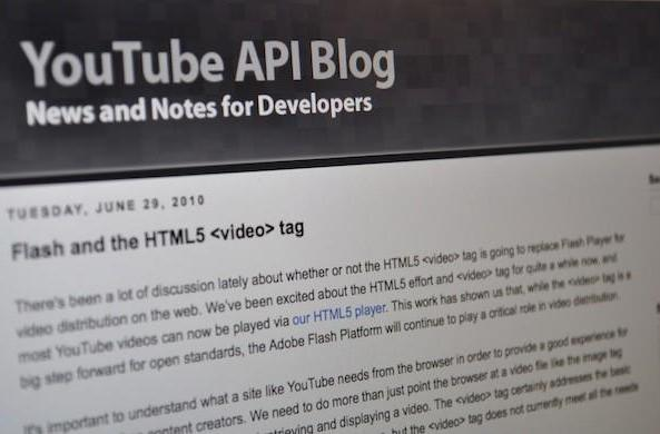 Google: HTML5 is good, Flash is the 'best platform' for YouTube today, WebM is the future