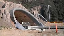 Devil's Slide tunnels open to traffic Monday night