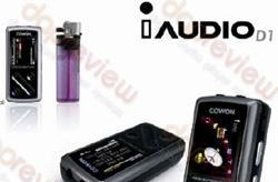 Cowon iAudio D1 details emerge, to include DAB