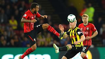 Full time: Watford 1-1 Southampton