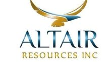 Altair Resources Signs Binding Letter of Intent to Acquire a Former Producing Zinc-Lead-Silver Mine in Germany