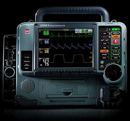 Medtronic's LIFEPAK 15 defibrillator for extreme conditions, or extremely clumsy paramedics