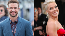 Justin Timberlake Defends Pink After She's Seen Chillin' on Beach Following Concert Cancellation