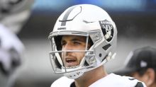 Raiders pull QB Derek Carr with Jets blowing them out