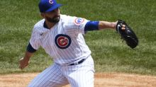 Cubs' Tyler Chatwood scratched from start vs. Brewers with mid-back tightness