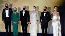 Alberto y Charlène de Mónaco, anfitriones de Helen Mirren y Johnny Depp