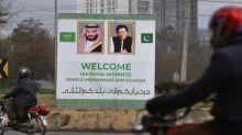 Saudi crown prince arrives in Pakistan for regional visit
