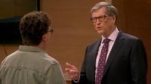 Bill Gates moves Leonard to tears on 'The Big Bang Theory'