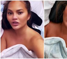 Chrissy Teigen moves hospital rooms after accidentally posting telephone number online