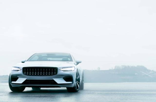Volvo's Polestar 1 luxury hybrid will cost $155,000
