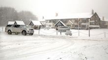 Snow hits part of the UK as flood-stricken Yorkshire is braced for more rain