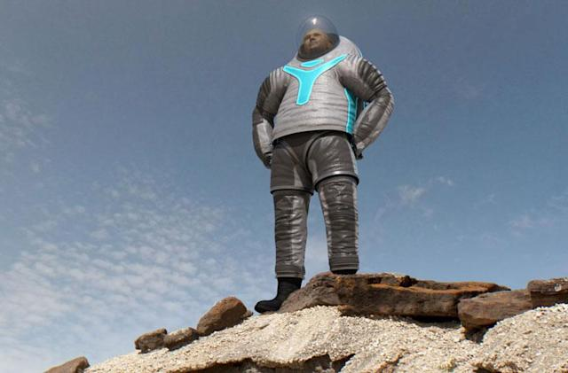 This is NASA's new Z-2 spacesuit