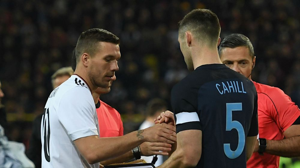'They play more football now' — Podolski praises England's departure from 'rugby style'