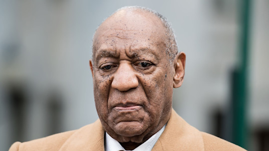 Cosby curses at prosecutor after guilty verdict