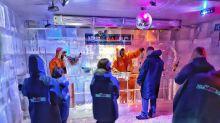 Peão congelado: Barretos agora tem um bar de gelo (literalmente)