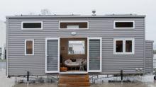 FOTOS | En esta minicasa de 15 metros cuadrados vive una familia de cuatro miembros