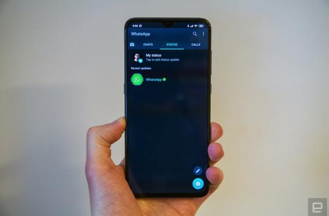 Dark mode is coming to WhatsApp for Android