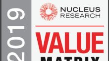 Kinaxis Named a Leader for Third Time in the 2019 Nucleus Research Control Tower Technology Value Matrix