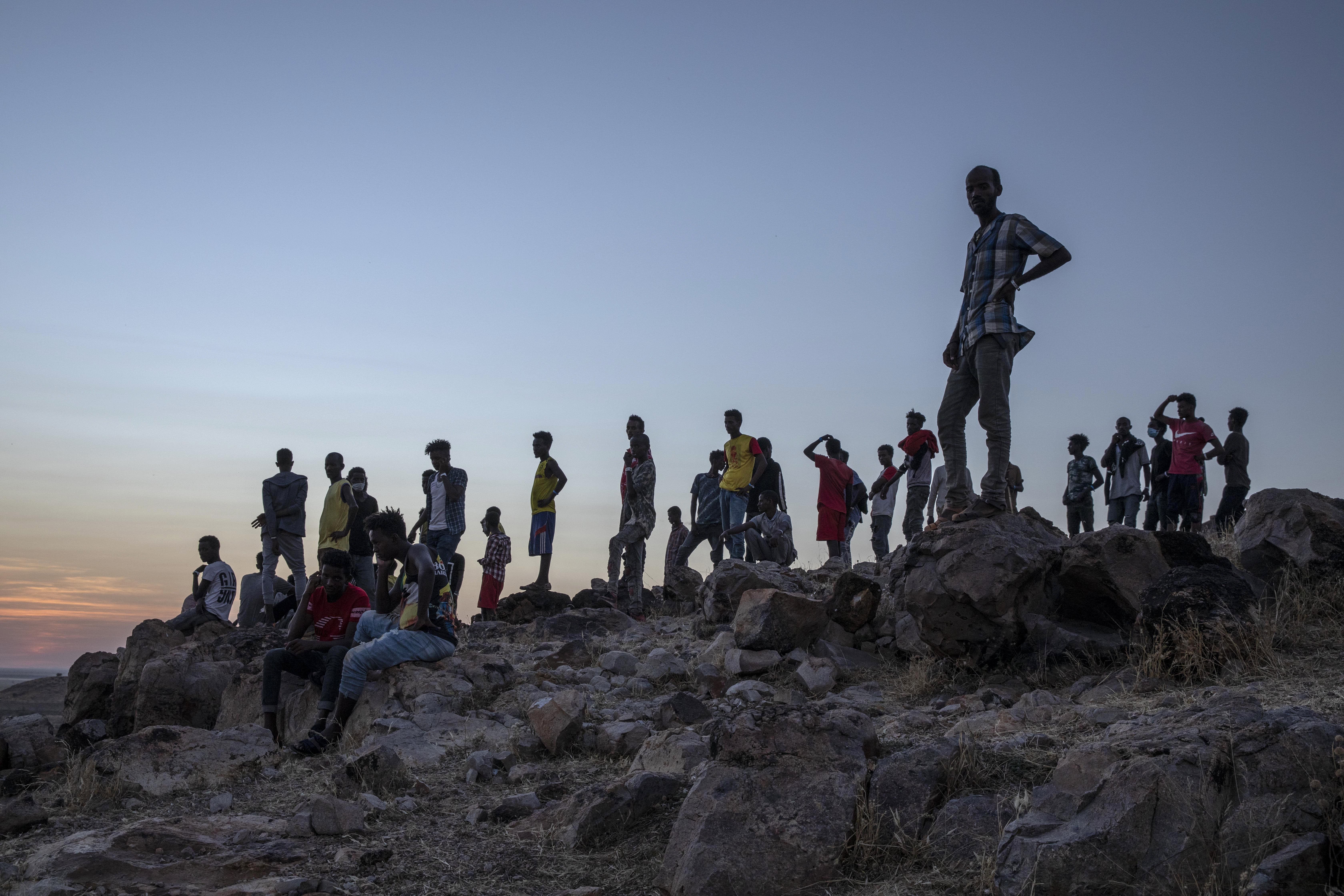 Ethiopians flee Tigray capital in fear of imminent assault