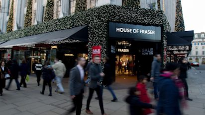 House of Fraser appoints advisers as it weighs potential store closures