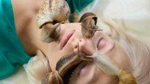 蝸牛爬滿臉吃死皮、補膠原蛋白 真實畫面曝光網嚇傻