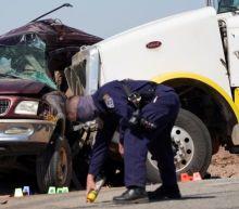 Thirteen die in southern California crash near Mexico border