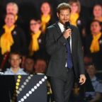 Prince Harry Sweetly References His Baby at the Invictus Games Opening Ceremony