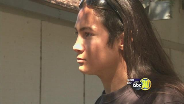 Native American Clovis High senior says school won't let him wear feather
