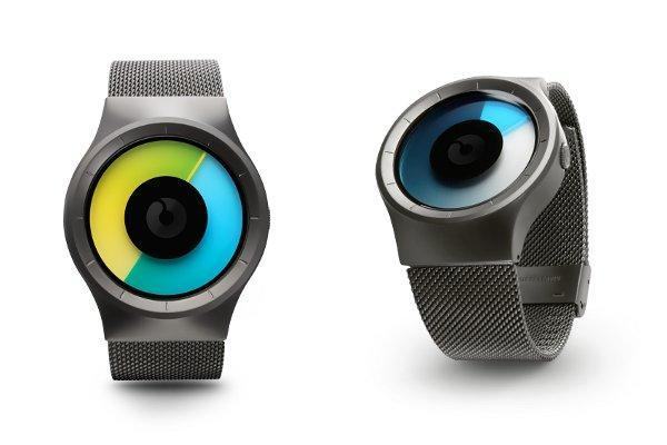 Ziiiro Celeste watches tick off the hours in multi-hued fashion