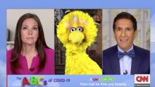'Sesame Street,' CNN Teach Kids About Coronavirus in Second Town Hall