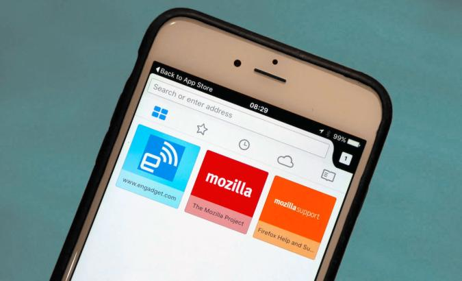 Firefox finally comes to iOS