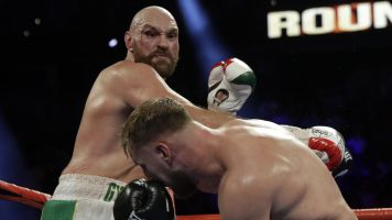 Bloodied Tyson Fury survives test from Wallin