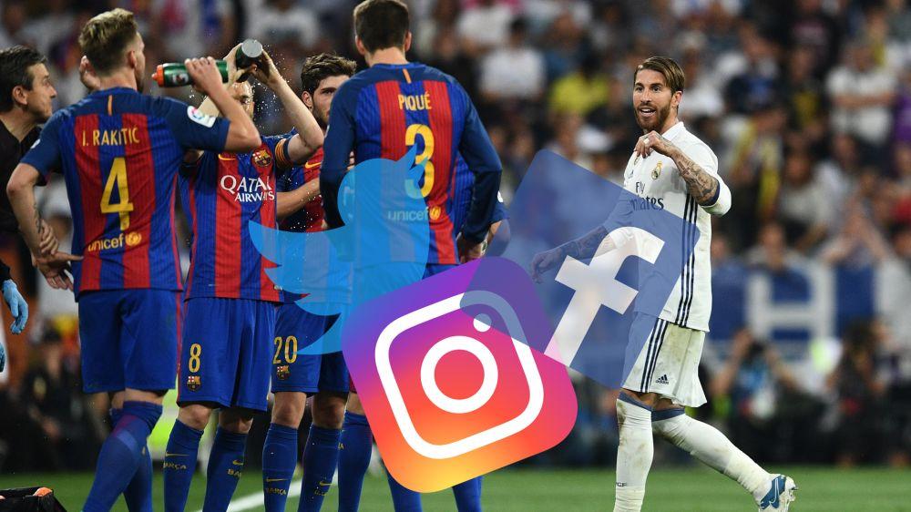 Die Social-Media-Reaktionen zum Spiel Real gegen Barca