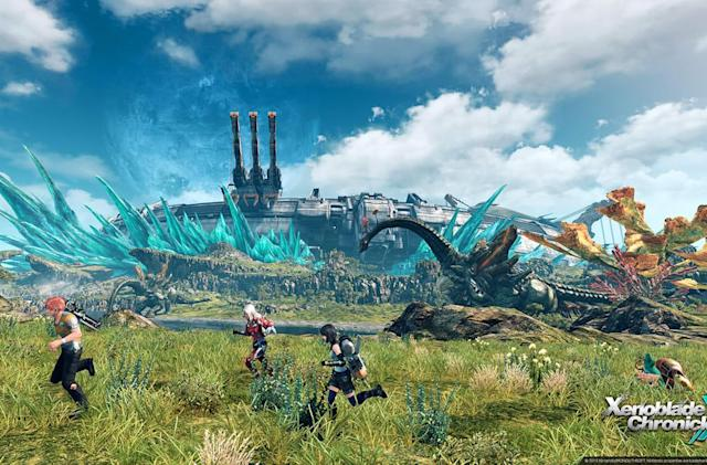 Playdate: Exploring a new world in 'Xenoblade Chronicles X'