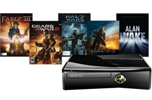 PSA: Canadian 250GB Xbox 360 bundle with 5 games now available