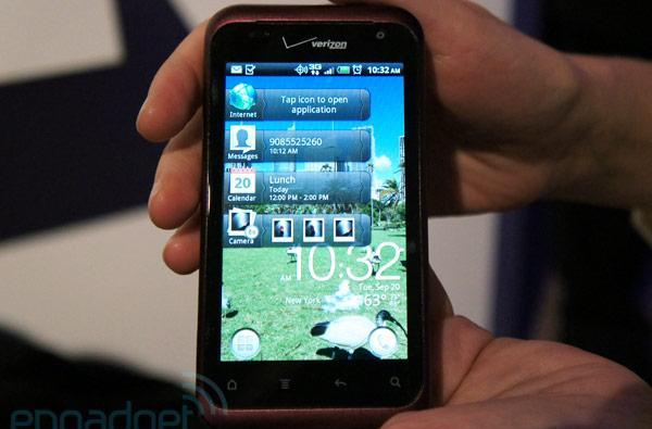 HTC Rhyme with Sense 3.5 hands-on (video)