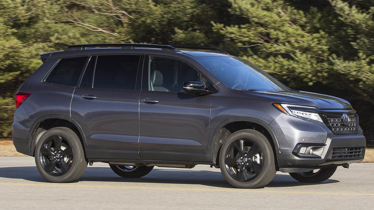 All New 2020 Honda Passport Lacks Pizazz