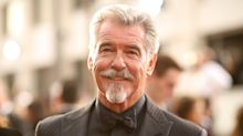 Pierce Brosnan debuts goatee at the Golden Globes, Twitter thinks he should play Colonel Sanders in next film