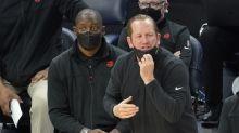 Virus sidelines Raptors coaches, Siakam for Rockets game
