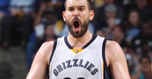 Basket - NBA - Le Top 5 de la nuit : Marc Gasol décisif pour Memphis