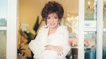 Joan Collins: 'When this is over I'm going to squeeze every last drop of joy out of life'