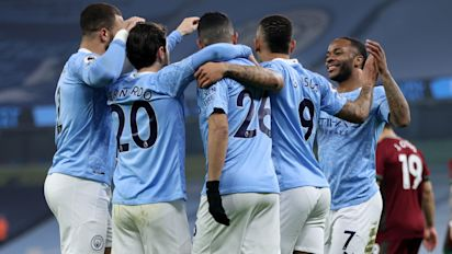 A look at Manchester City's 21-match winning run as it is ended by rivals United